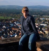 sitting on top of a castle in Germany