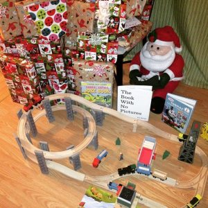 And, Ms. Claus struck again. I'm telling you, Santa is overrated. I'm sure she does all the work anyway.